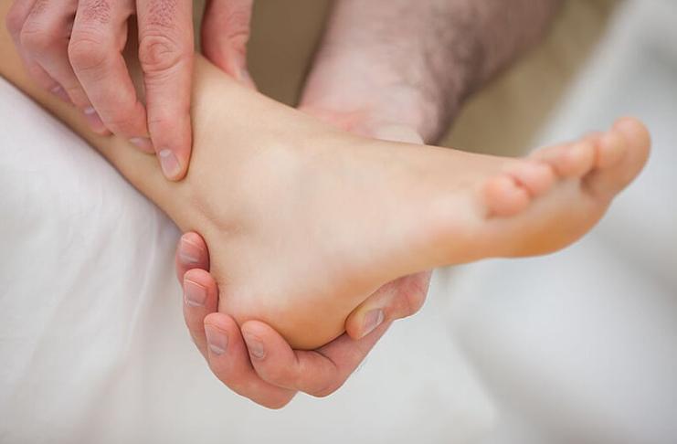 Артрит суставов ног