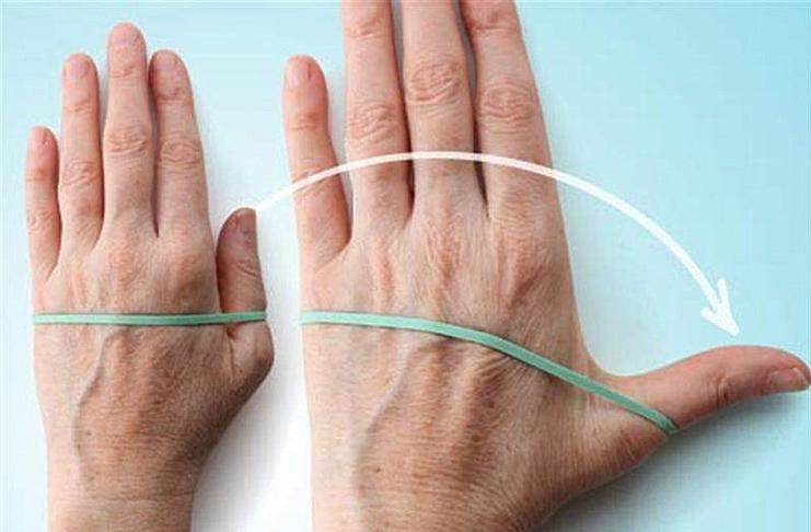 Отвести палец в сторону