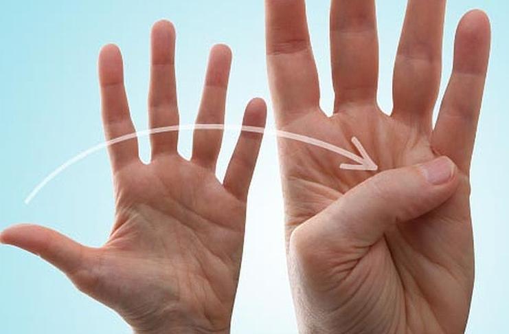 Упражнение для пальца