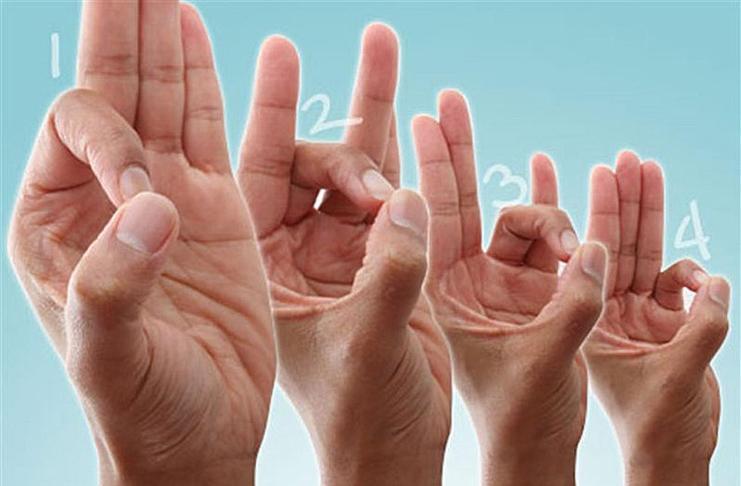 Касаться большого пальца