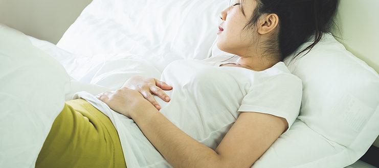 Белые выделения на раннем сроке беременности