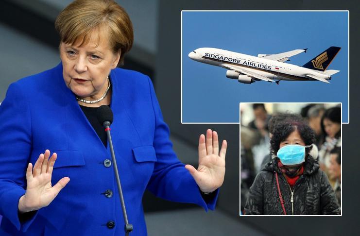 Действия правительства Германии