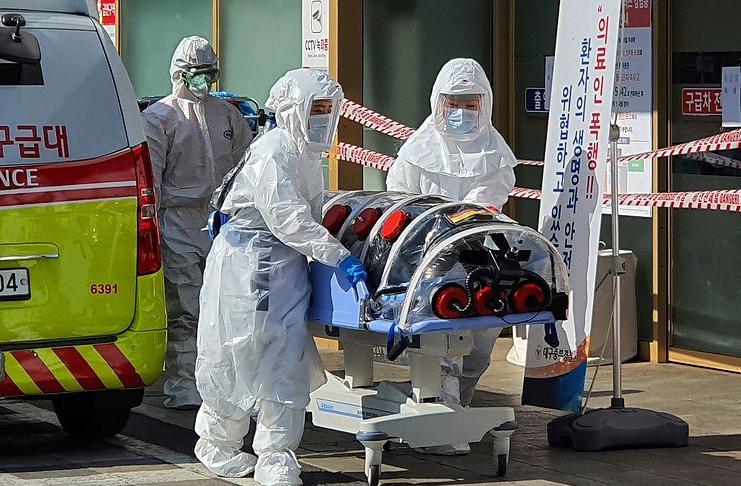 Заражение коронавирусом в Германии
