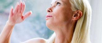 Симптомы климакса после сорока